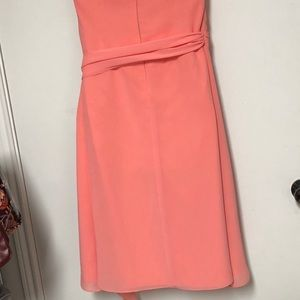After Six Dresses - After Six Strapless Peachy Dress Sz 10